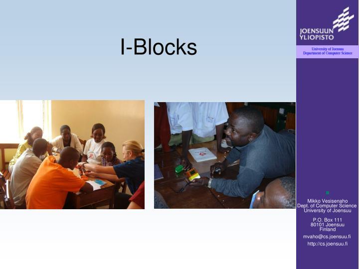I-Blocks
