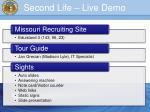second life live demo