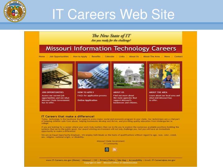 IT Careers Web Site