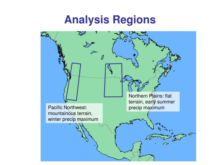 Analysis Regions