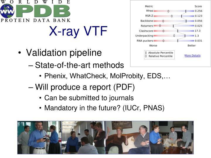 X-ray VTF