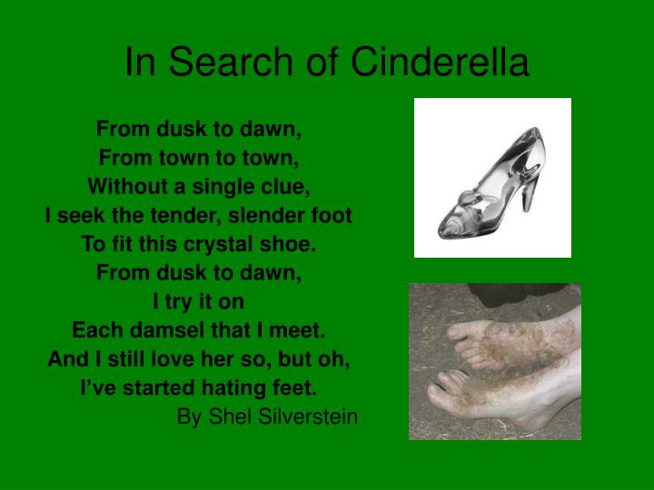 In Search of Cinderella