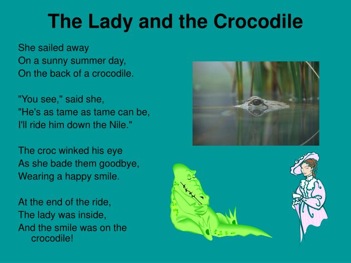 The Lady and the Crocodile