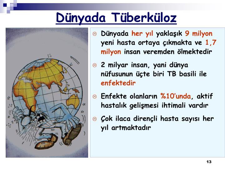Dünyada Tüberküloz