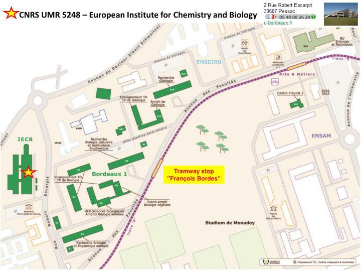 CNRS UMR 5248 –