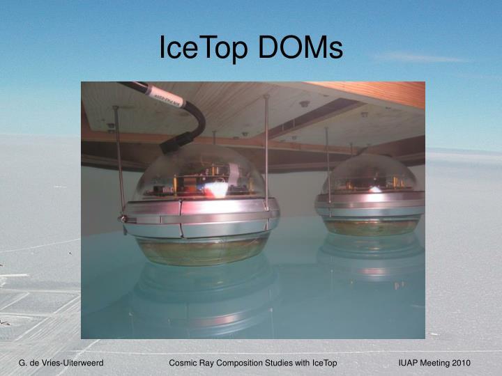 IceTop DOMs