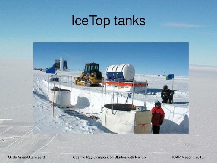 IceTop tanks