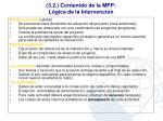 3 2 contenido de la mpp l gica de la intervenci n