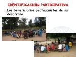 identificaci n participativa