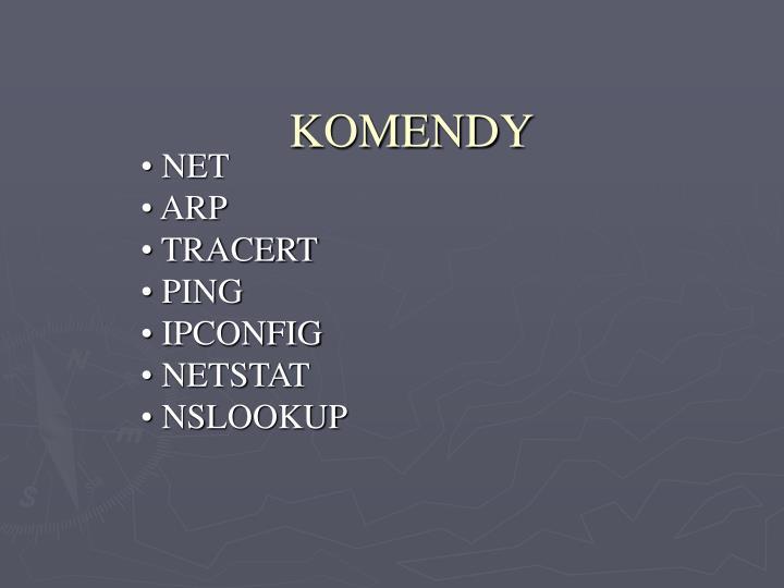 KOMENDY