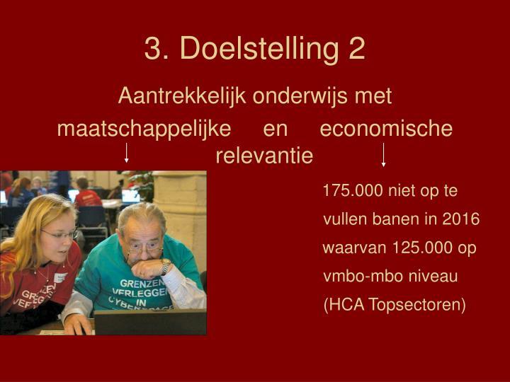 3. Doelstelling 2