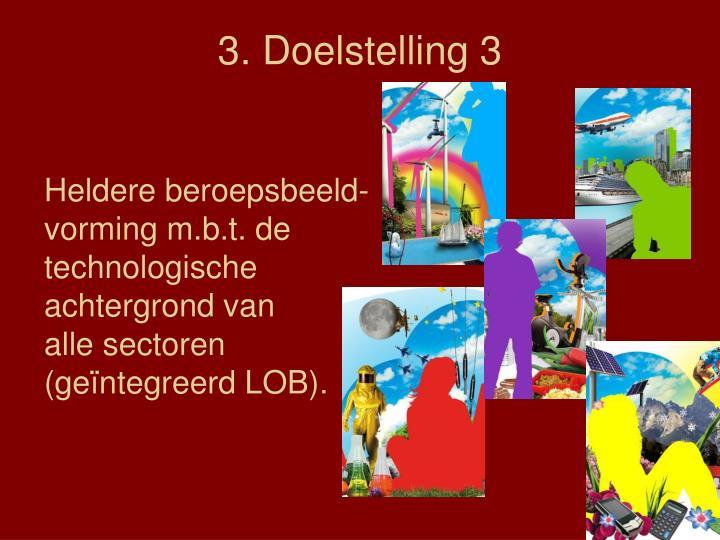 3. Doelstelling 3