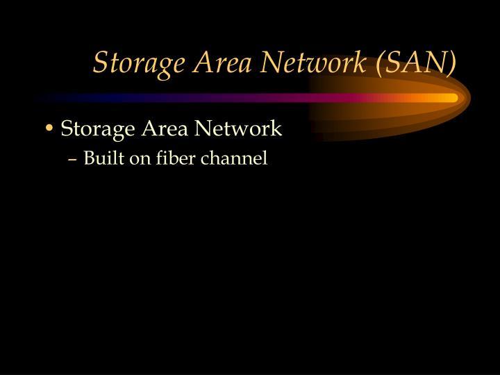 Storage Area Network (SAN)