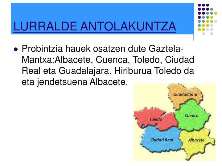 LURRALDE ANTOLAKUNTZA