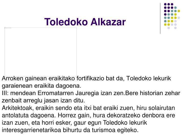 Toledoko Alkazar