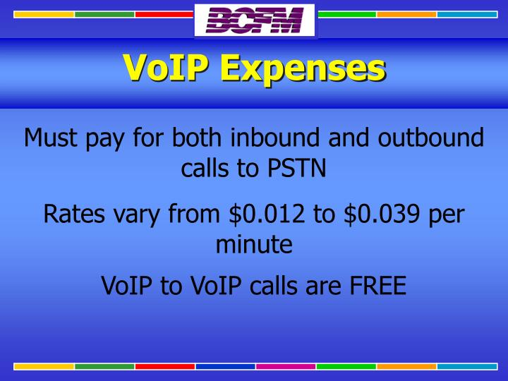 VoIP Expenses