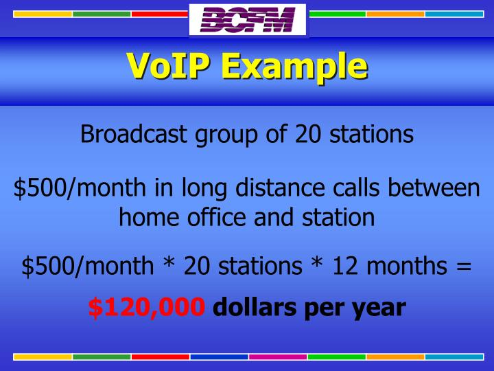 VoIP Example