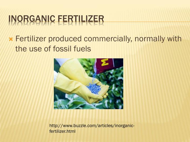 Inorganic fertilizer