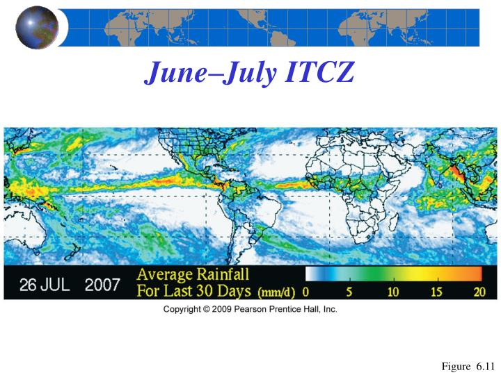 June–July ITCZ