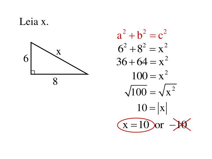 How To Solve Pythagorean Theorem Problems