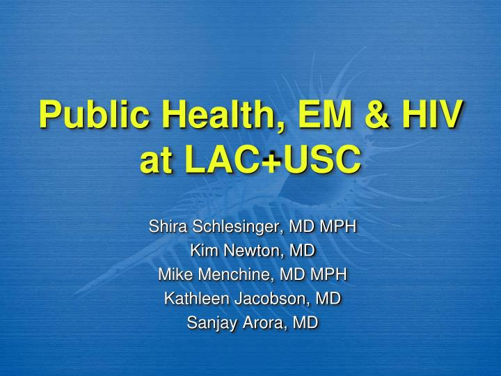 public health approaches on msm essay