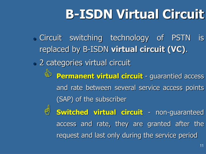 Ppt lecture 10 isdn architecture and services for B isdn architecture