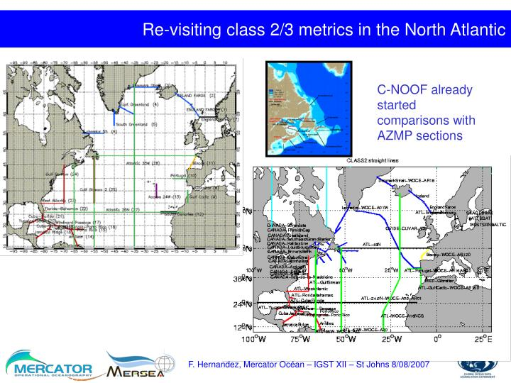 Re-visiting class 2/3 metrics in the North Atlantic