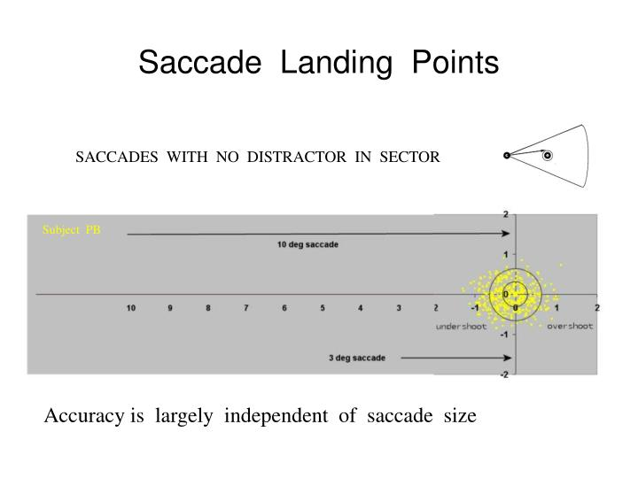 Saccade  Landing  Points