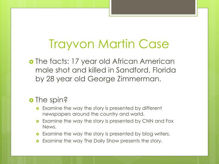 Trayvon Martin Case