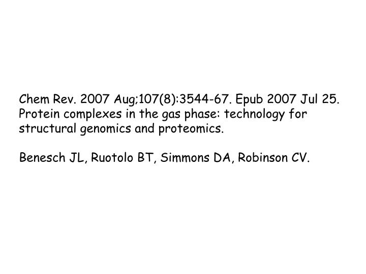 Chem Rev. 2007 Aug;107(8):3544-67. Epub 2007 Jul 25.