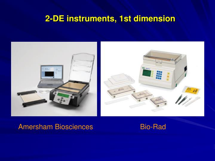 2-DE instruments, 1st dimension