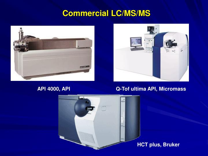 Commercial LC/MS/MS