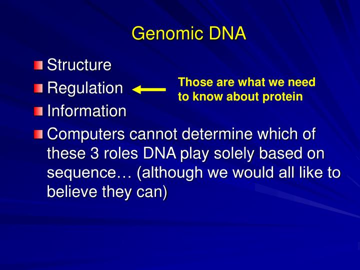 Genomic DNA