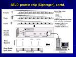 seldi protein chip ciphergen contd