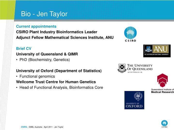Bio - Jen Taylor