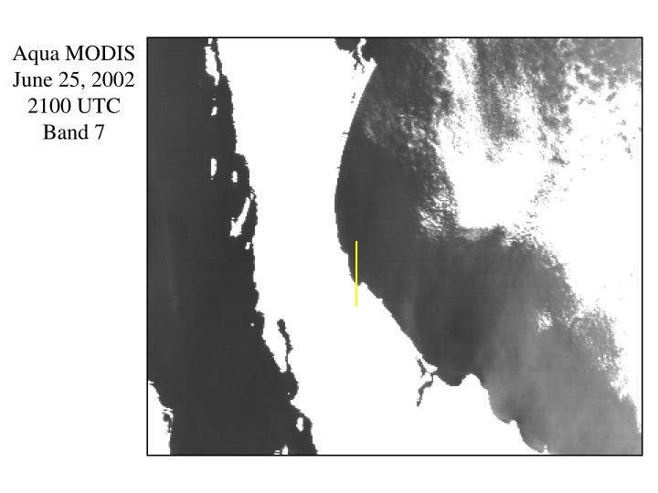 Aqua MODIS