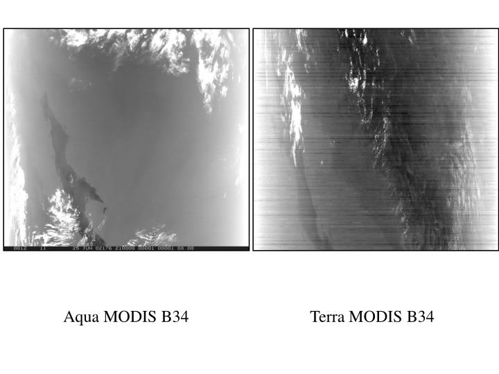 Aqua MODIS B34