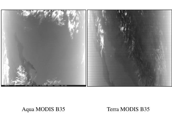 Aqua MODIS B35