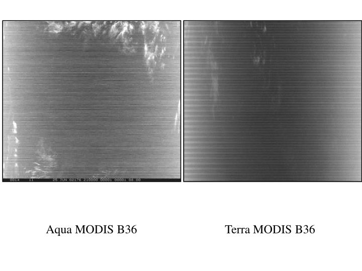 Aqua MODIS B36
