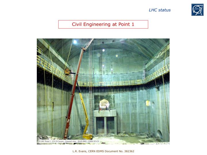 Civil Engineering at Point 1