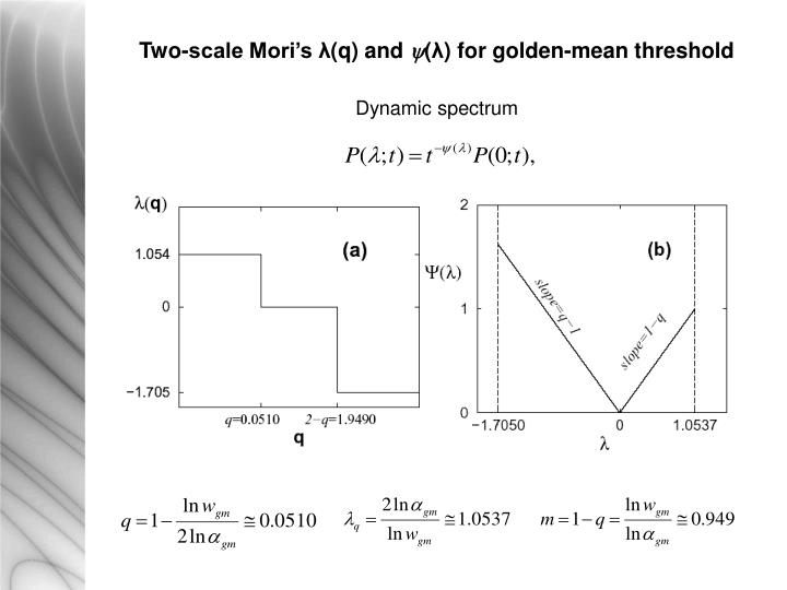 Two-scale Mori's