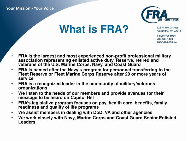 What is fra