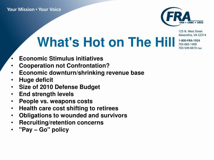 What's Hot on The Hill