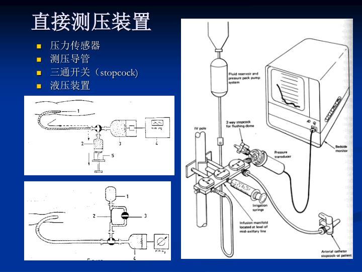 直接测压装置