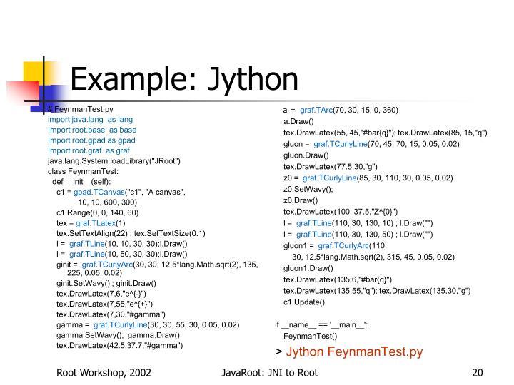 # FeynmanTest.py