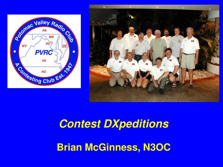 Contest dxpeditions