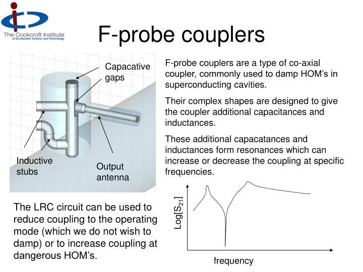 F-probe couplers