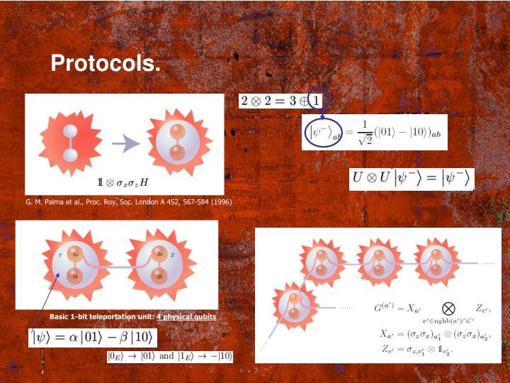Protocols.