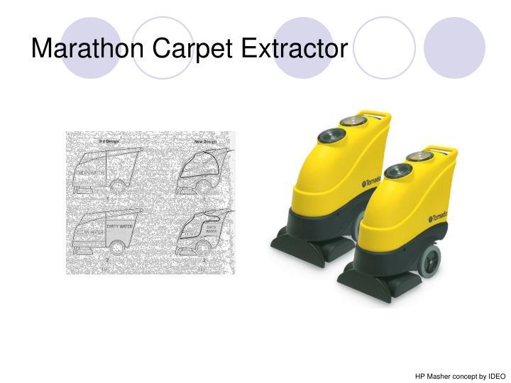 Marathon Carpet Extractor