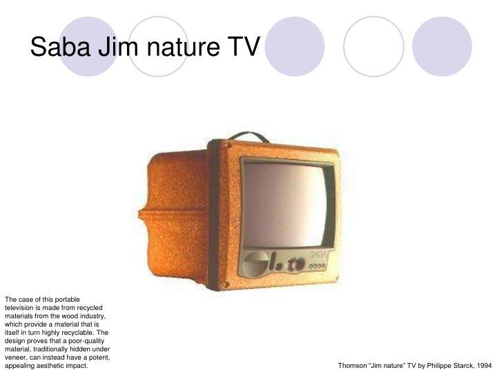 Saba Jim nature TV
